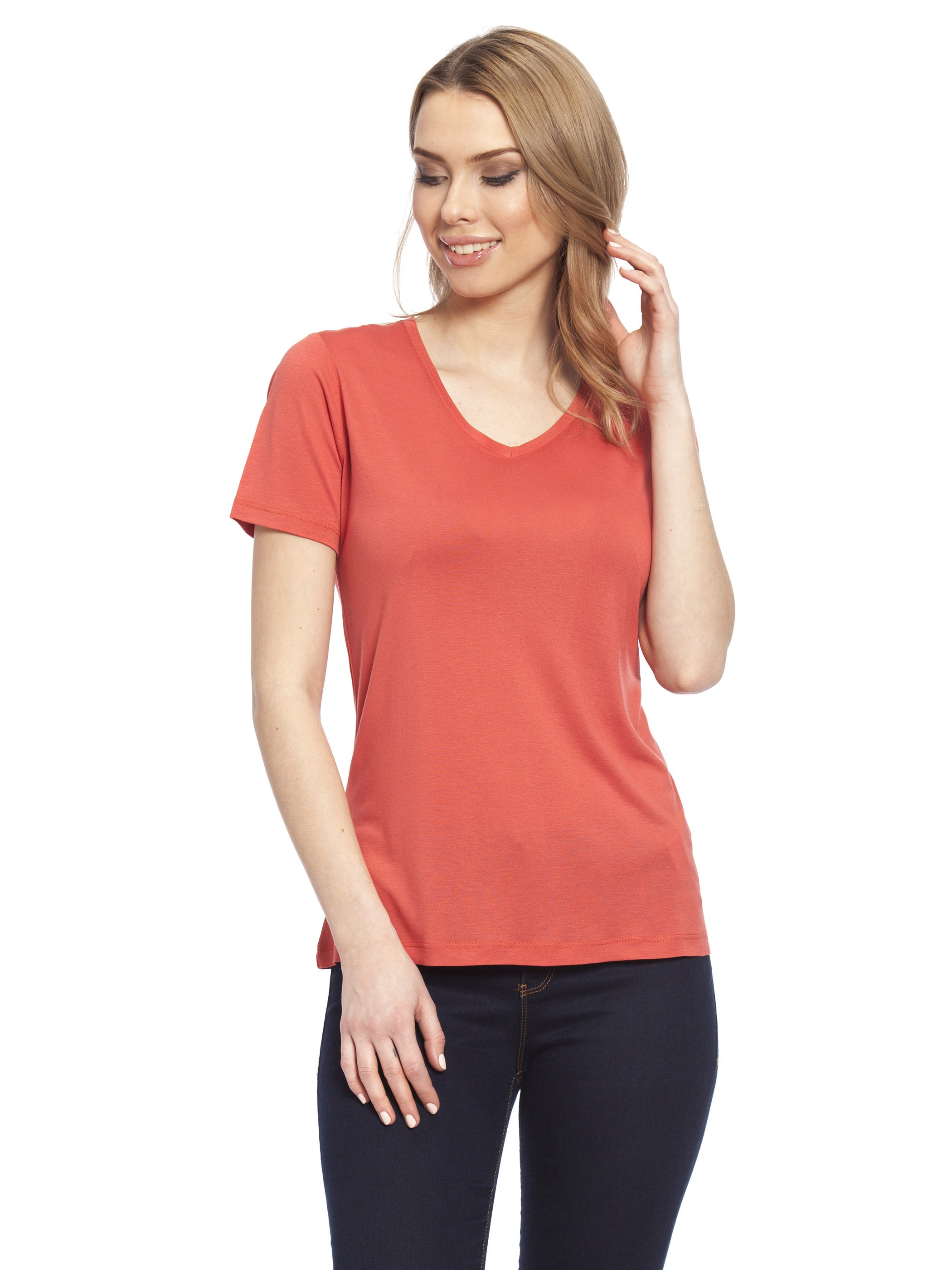 RED - T-Shirt - 7Y7484Z8