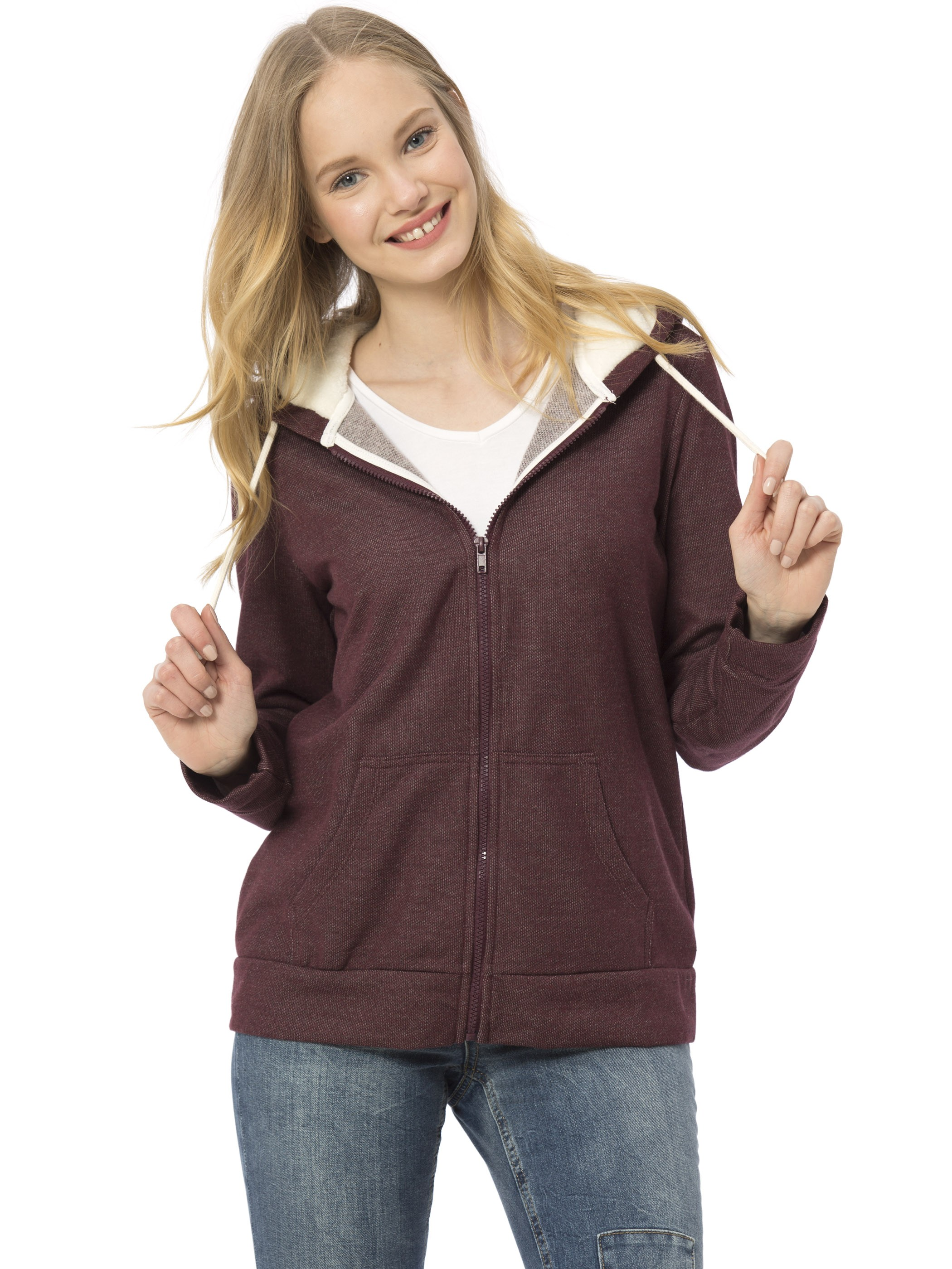 BORDEAUX - Cardigan Track Top - 7KG952Z8