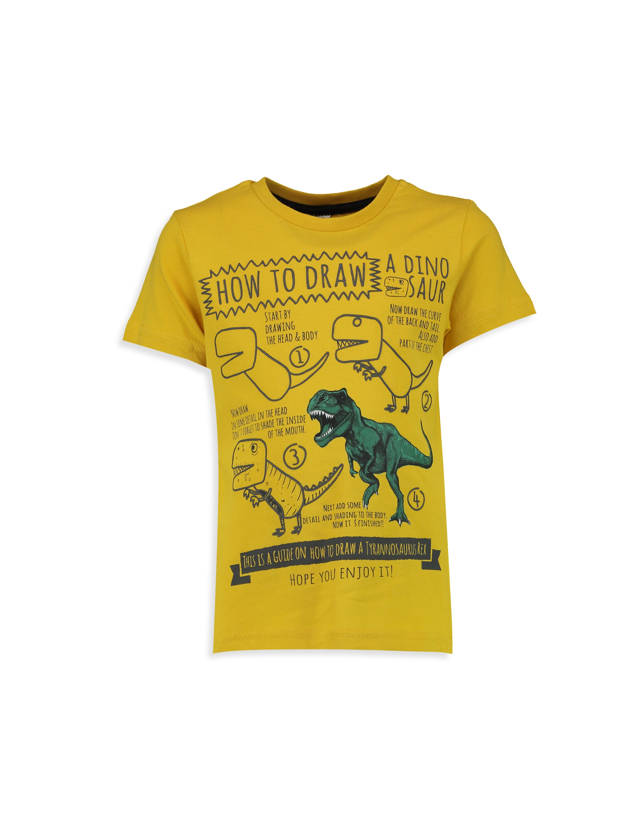 Yellow - T-Shirt - 7Y1824Z4