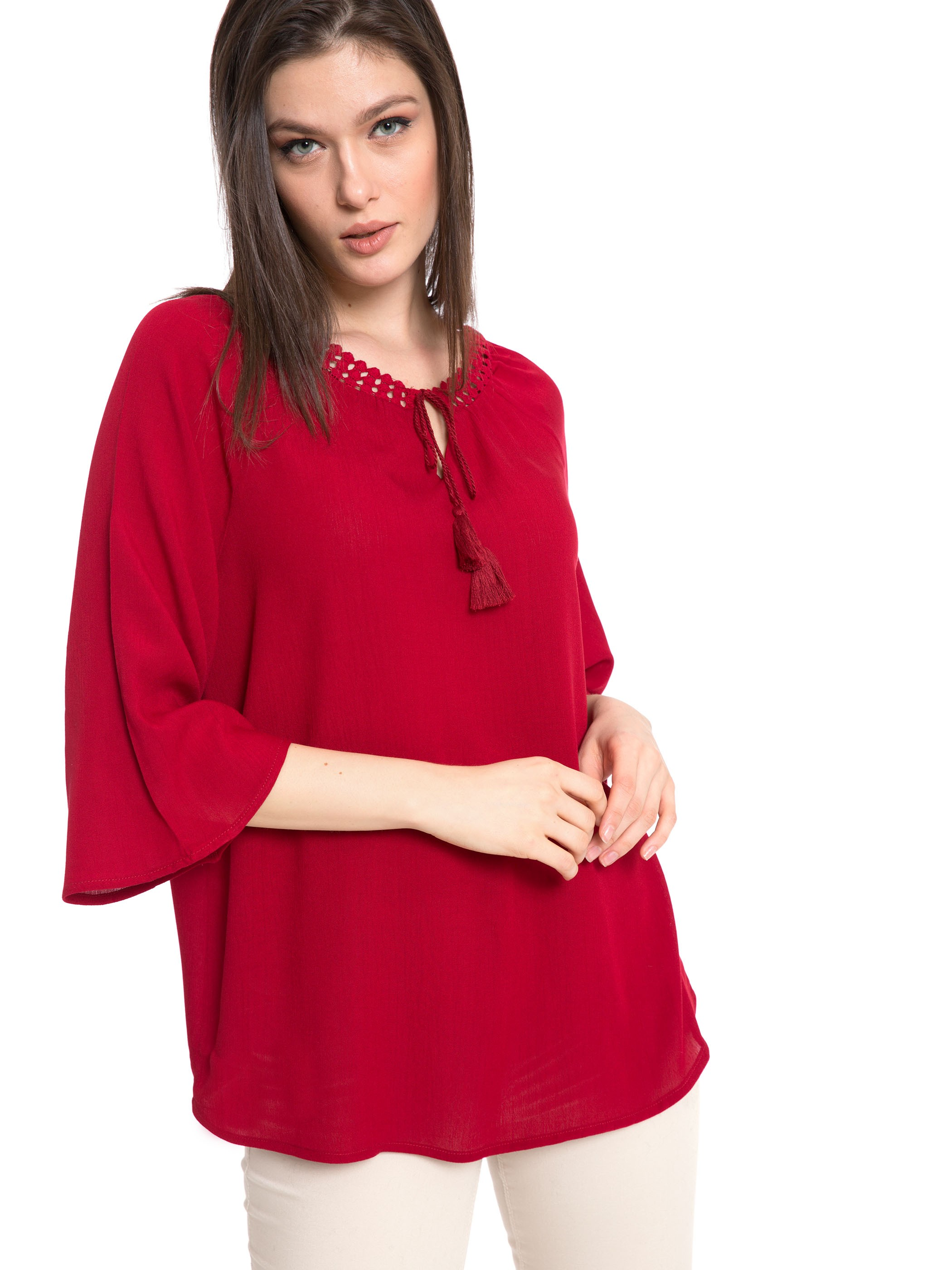 RED - Blouse - 8S9565Z8
