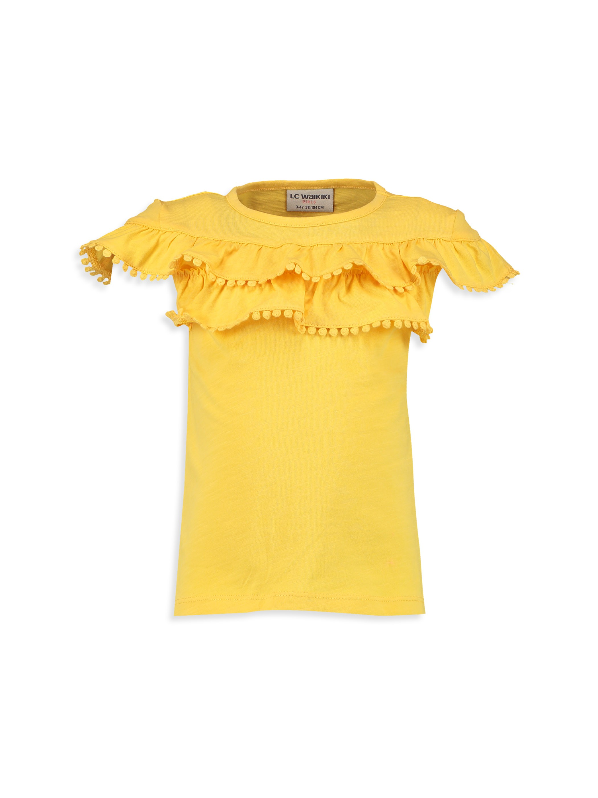Yellow - T-Shirt - 8S3149Z4