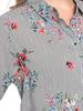 RED - Floral Viscose Tunic - 8S1396Z8