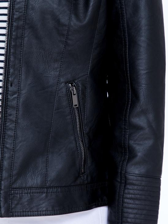 Black - Short Coat - 8S1507Z8