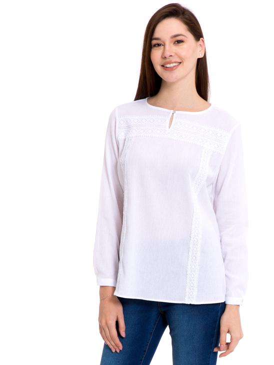 White - Blouse - 8S7092Z8