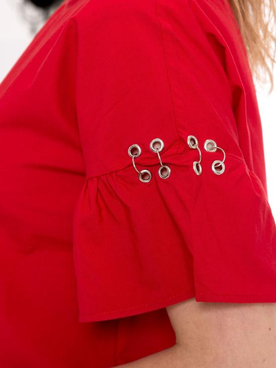 RED - Blouse - 8S4420Z8