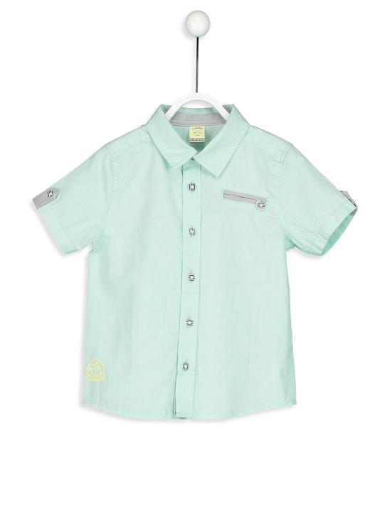 TURQUOISE - Shirt - 8S1521Z1