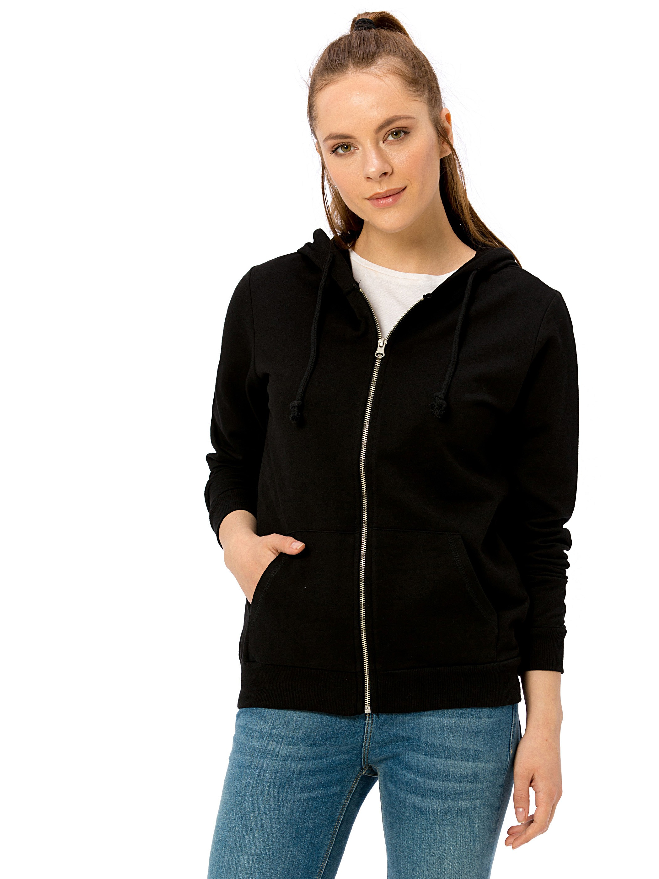 Black - Sweatshirt - 8S6183Z8