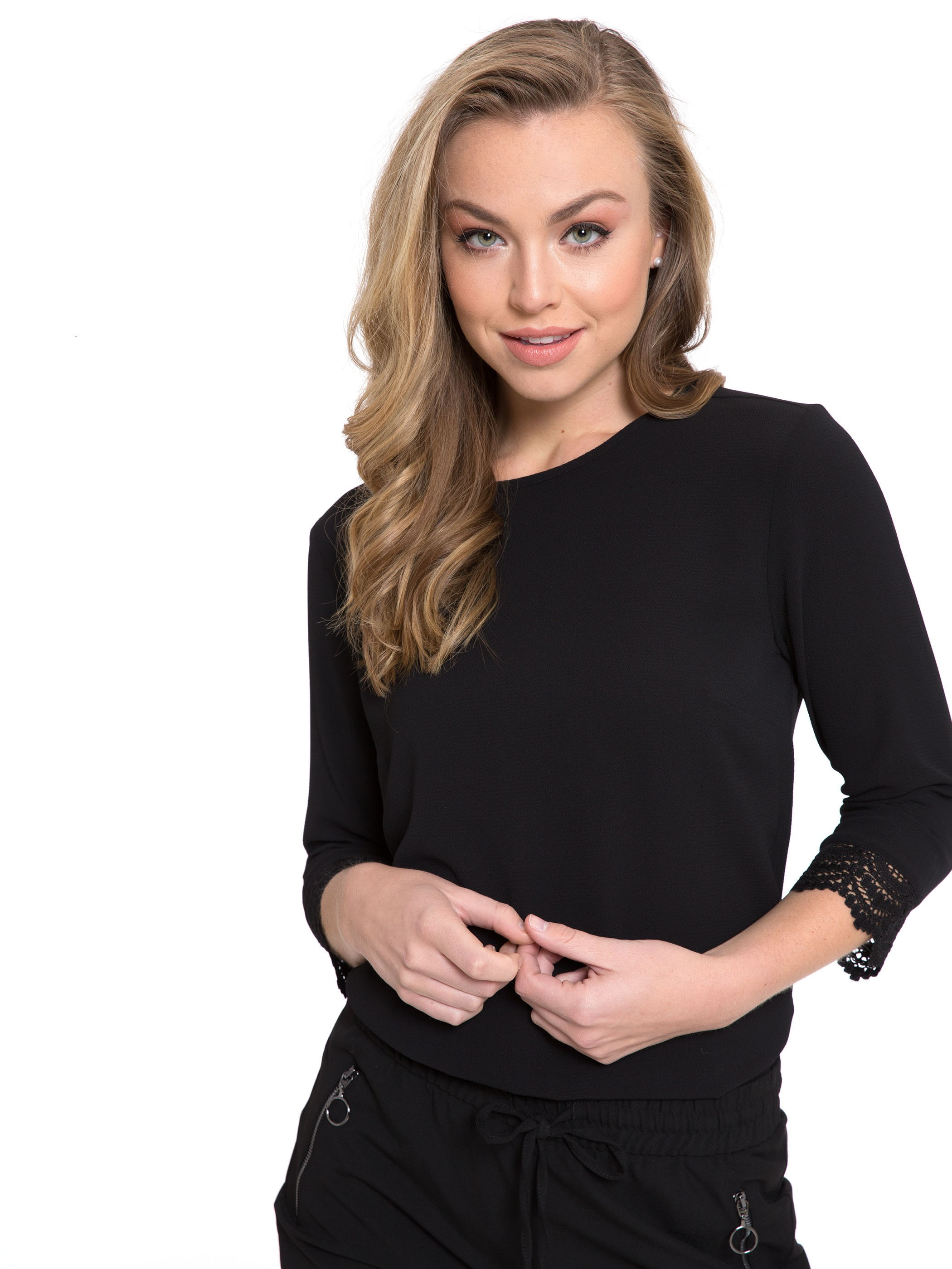 BLACK - Blouse - 8S1398Z8