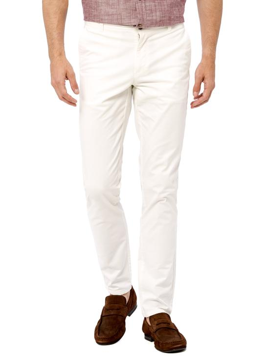 White - Trousers - 8S7554Z8