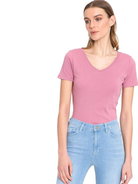 Pink - T-Shirt - 8S1747Z8
