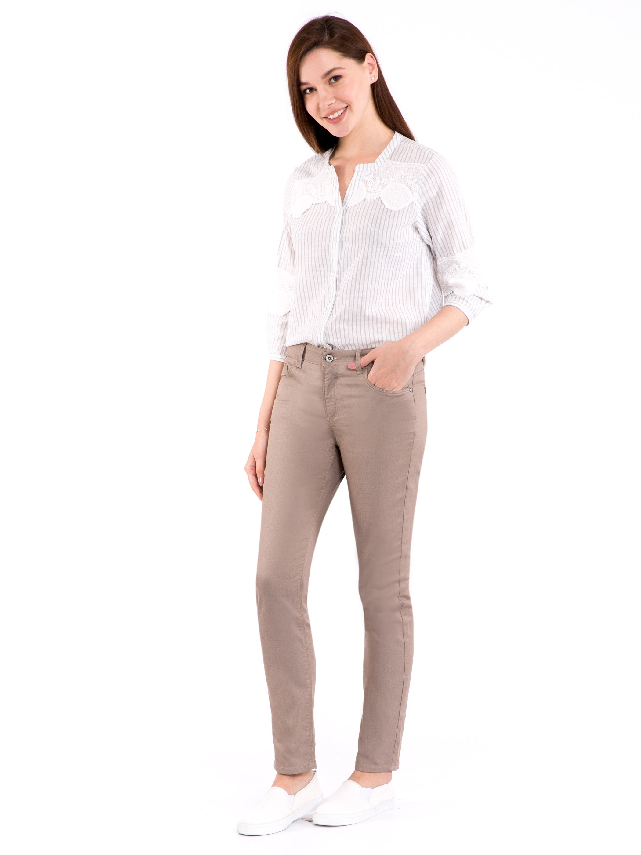 Beige - Trousers - 8S2529Z8