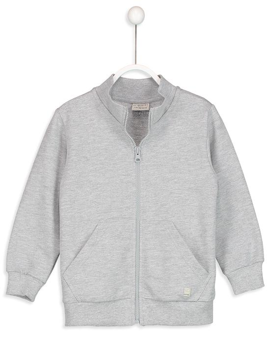 GREY - Cardigan Track Top - 8S4071Z4