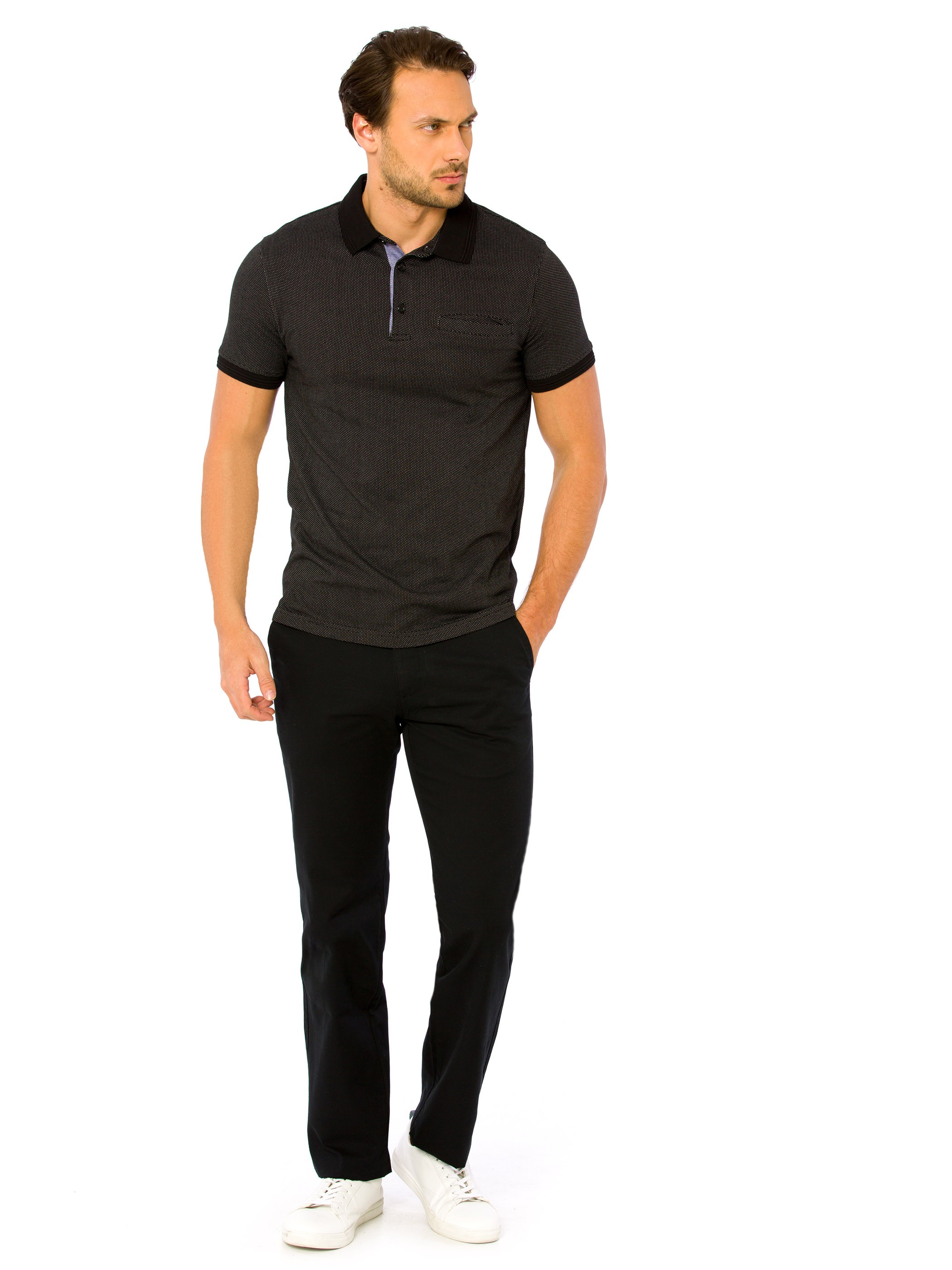 BLACK - Chino Trousers - 8S1219Z8
