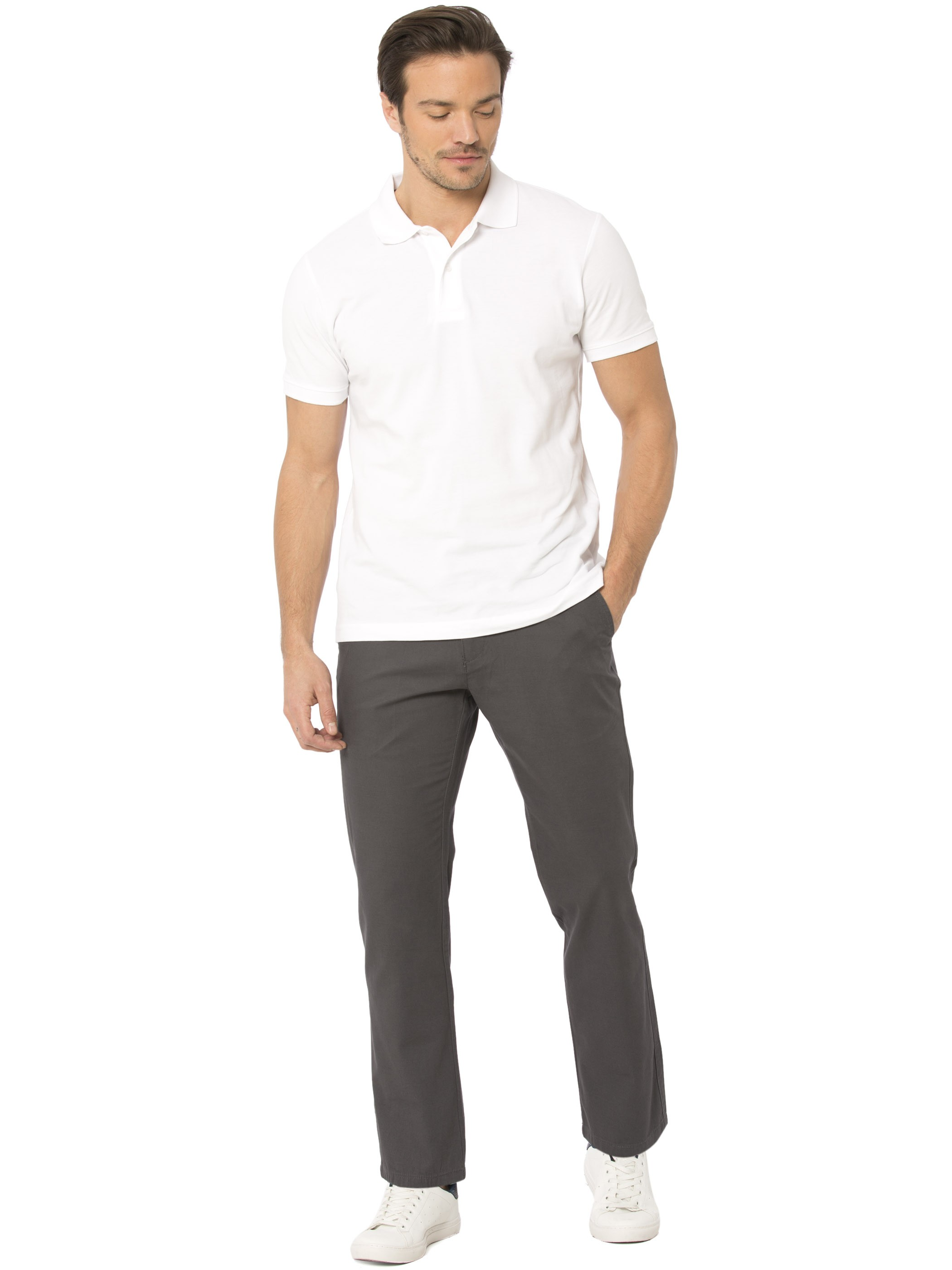 GREY - Chino Trousers - 8S1219Z8