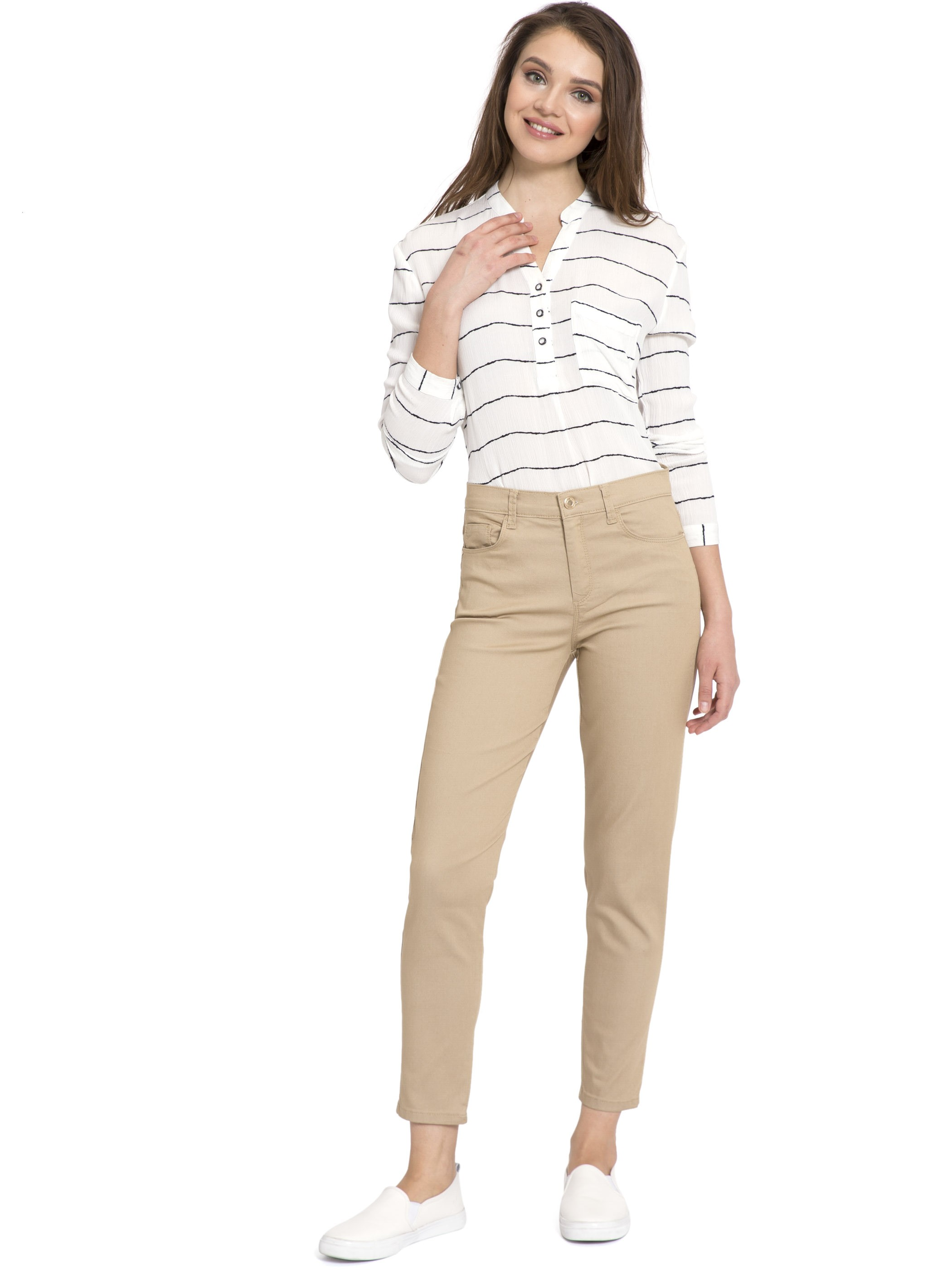 Beige - Trousers - 8S2532Z8