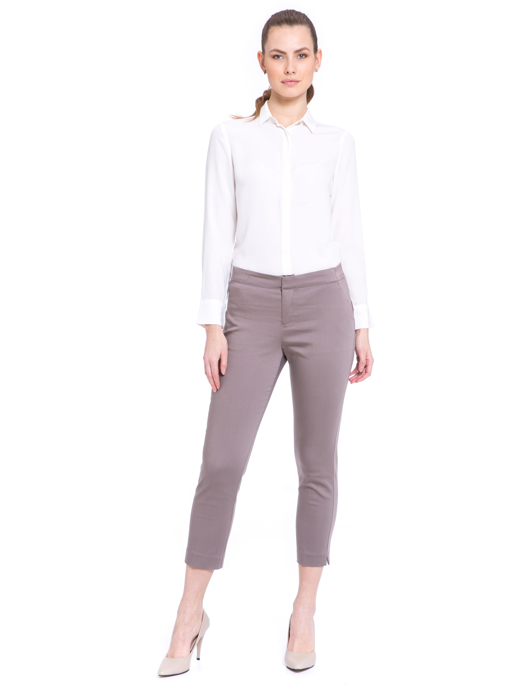 Brown - Trousers - 8S2539Z8