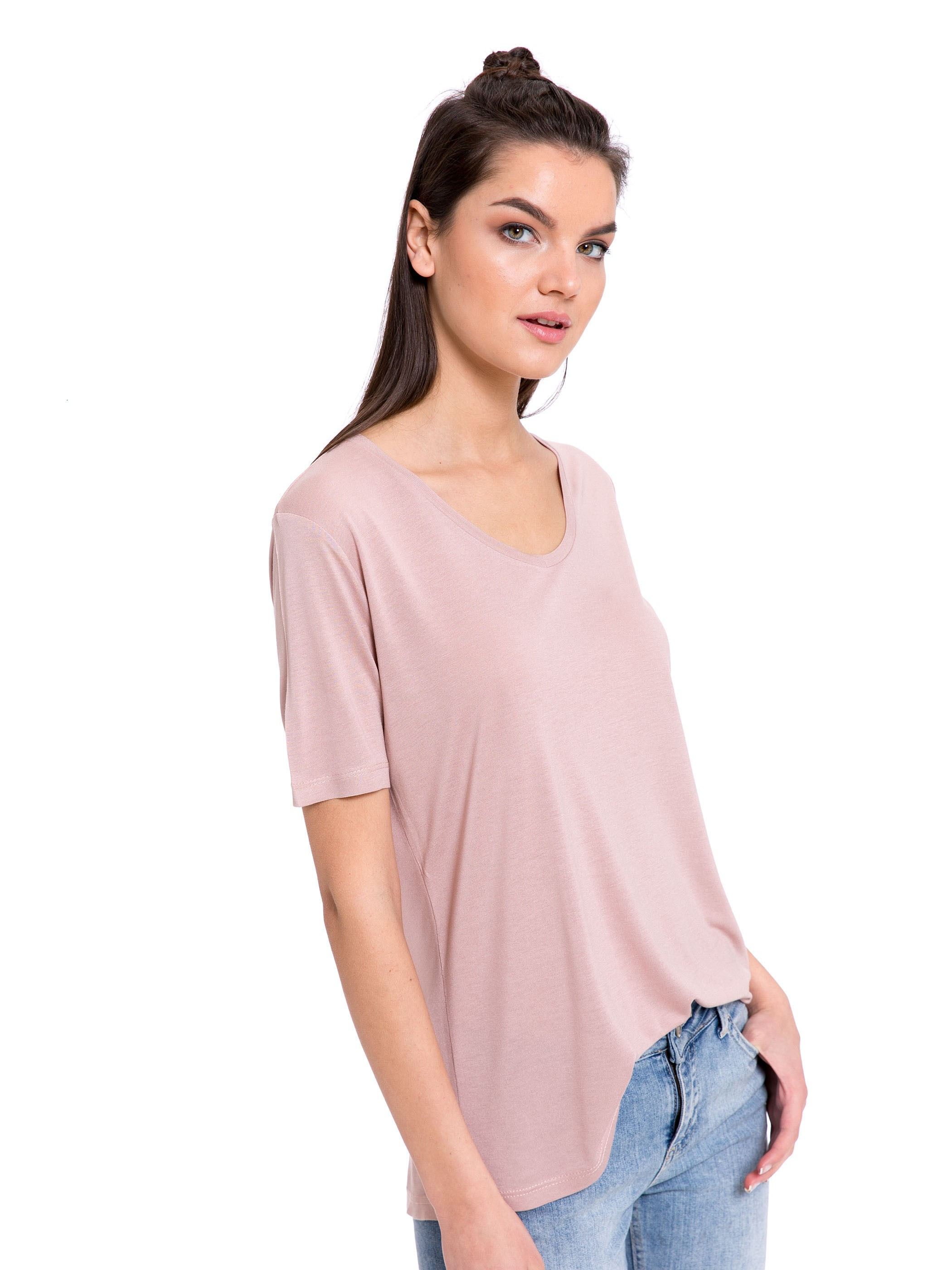 Pink - T-Shirt - 8S1694Z8