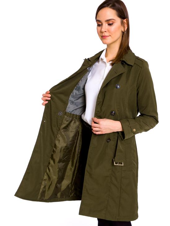 KHAKI - Trench coat - 8S1710Z8