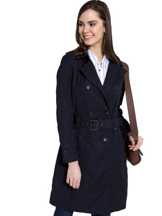 Navy - Trenchcoat - 8S1710Z8