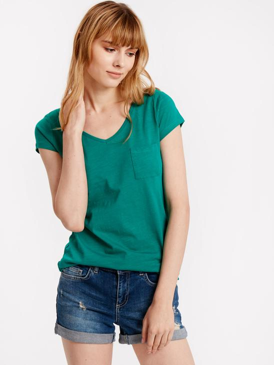Turquoise - T-Shirt - 8S4804Z8