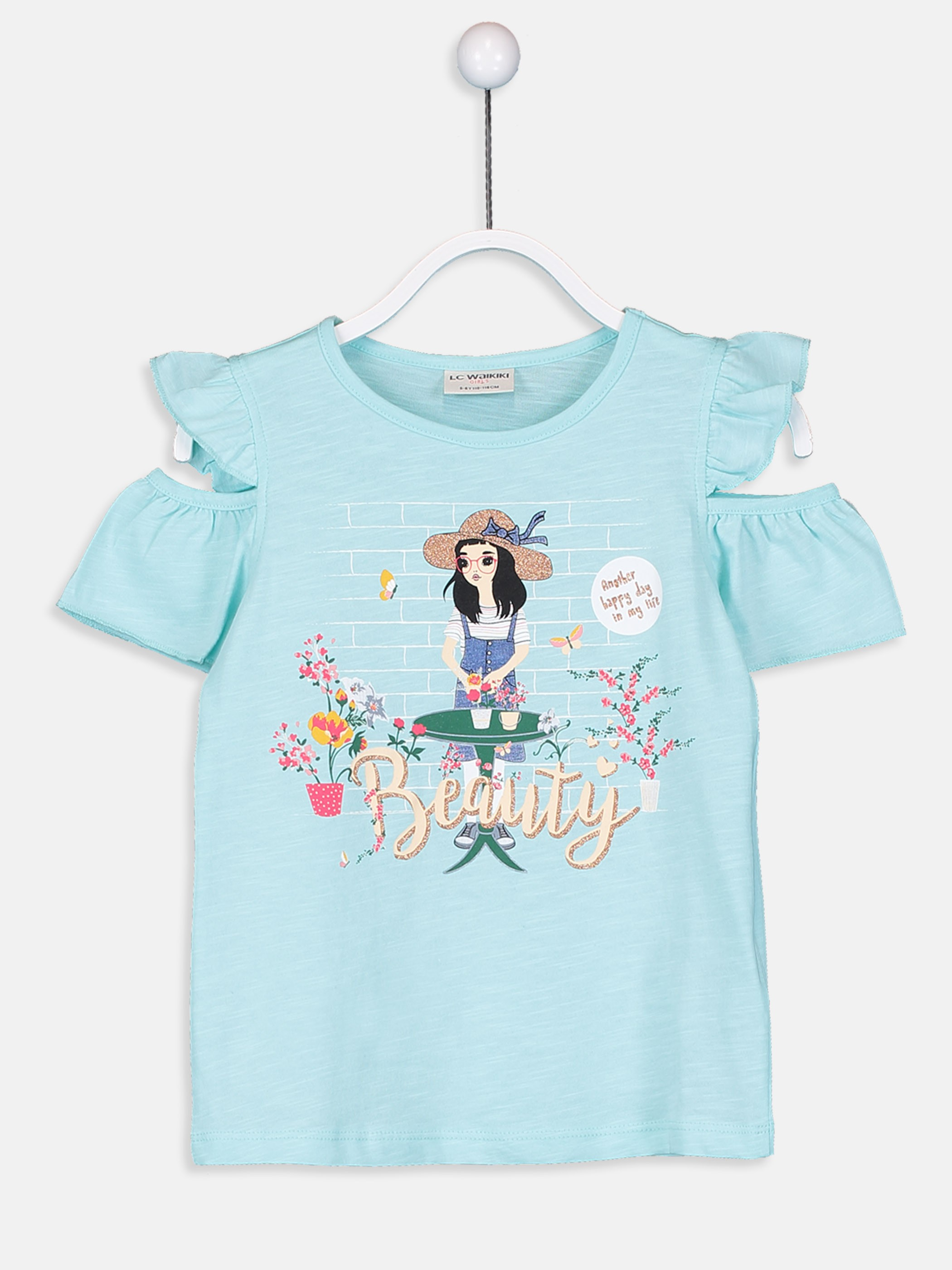 TURQUOISE - T-Shirt - 9SI707Z4
