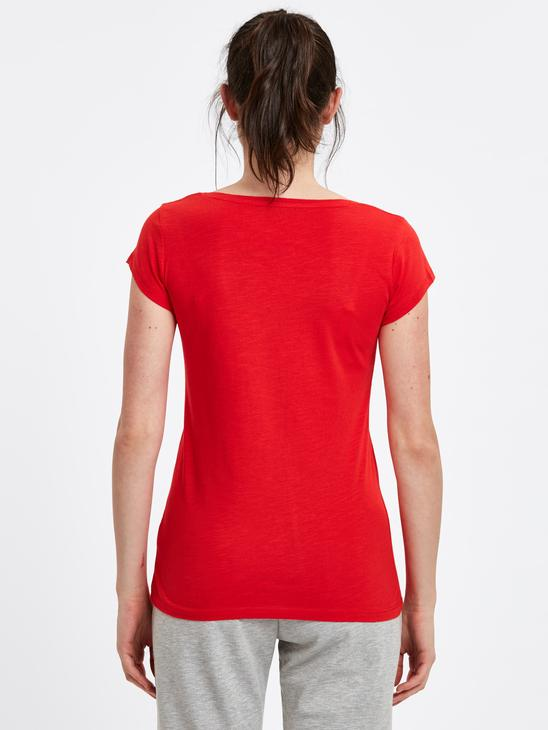 Red - T-Shirt - 9S4991Z8