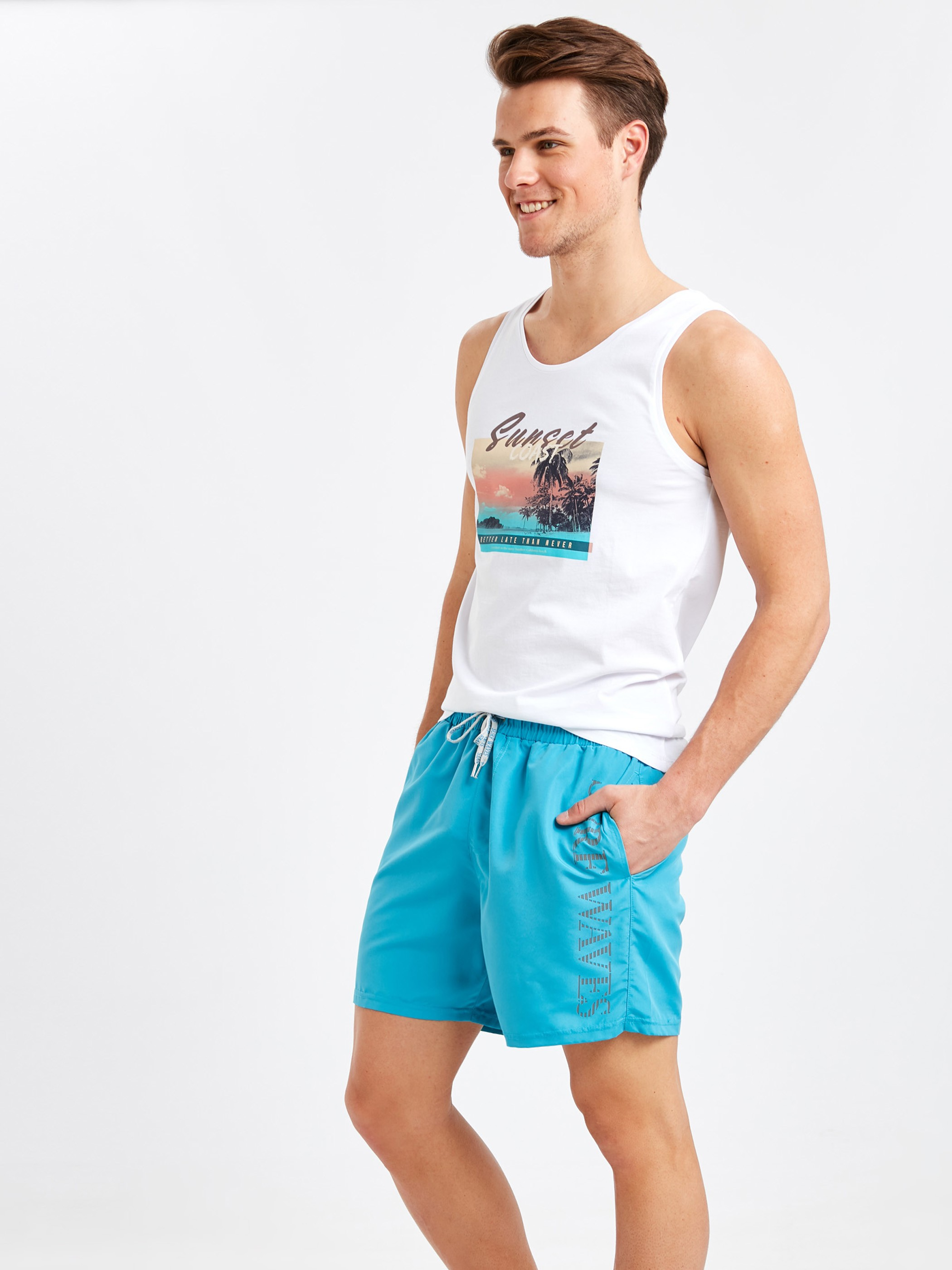 BLUE - Swim Shorts - 9S6694Z8