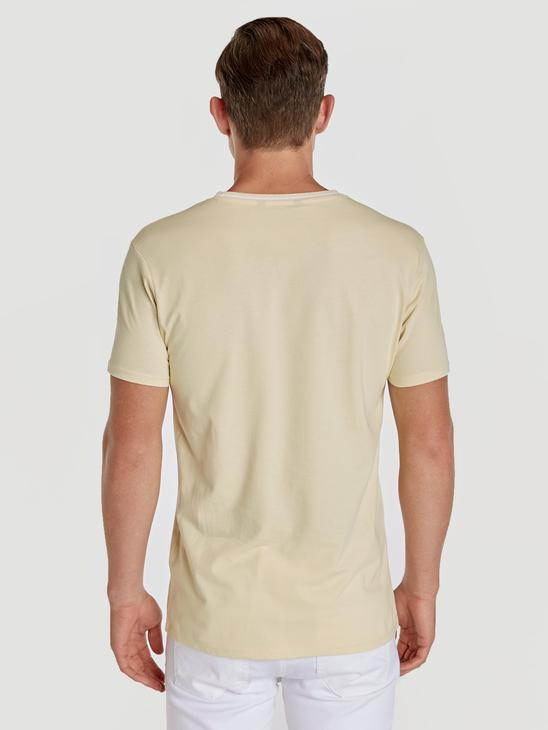 YELLOW - T-Shirt - 9SI635Z8