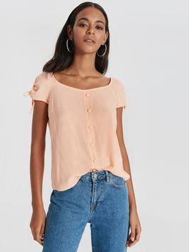 Coral - Blouse