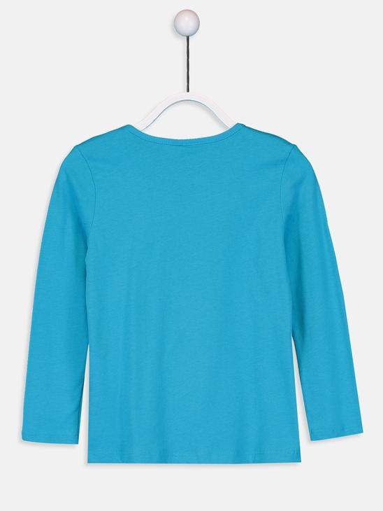 TURQUOISE - T-Shirt - 9W2619Z4