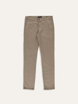 Beige - Trousers
