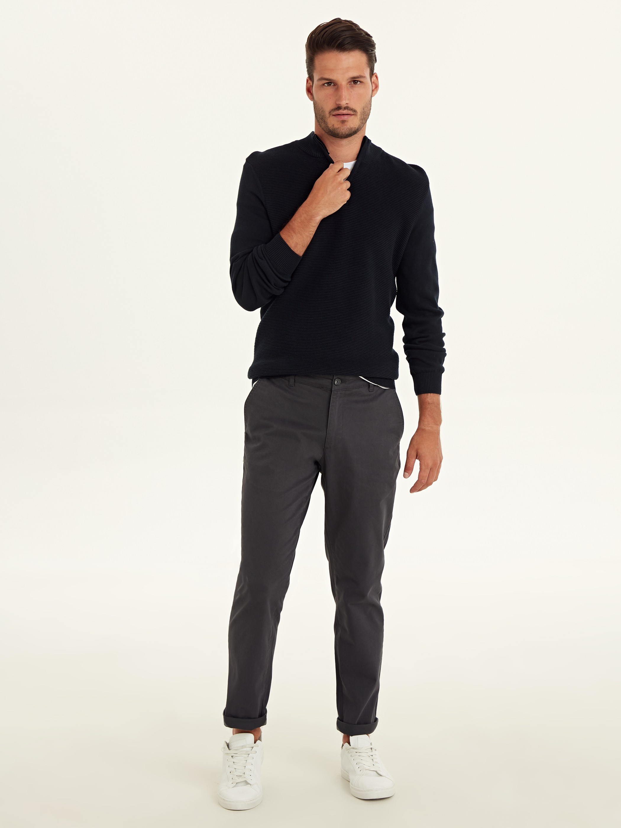 ANTHRACITE - Chino Trousers - 9W1023Z8