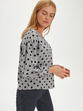Grey - Blouse