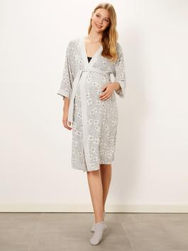 Grey - Dressing Gown