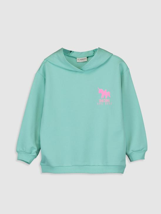 GREEN - Sweatshirt - 9WR030Z4