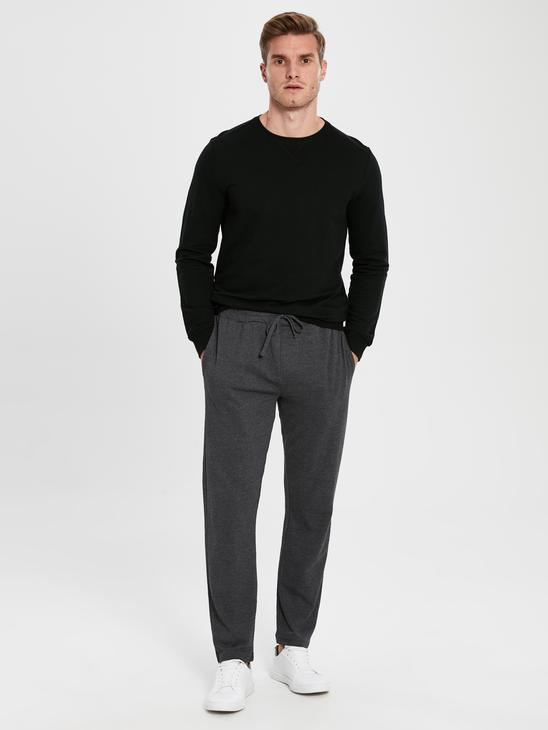 ANTHRACITE - Standard Fit Sweatpants - 0S3136Z8