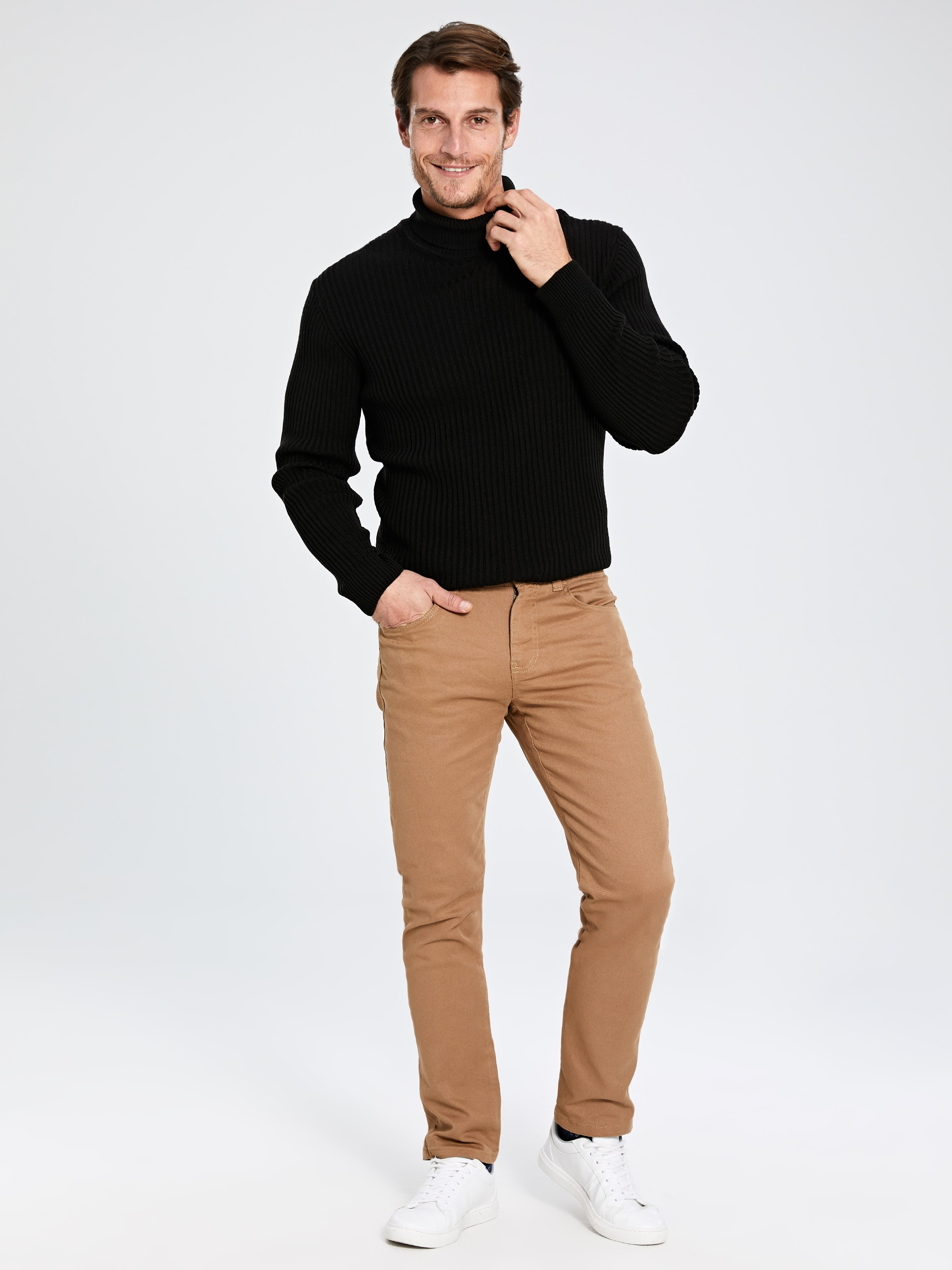 BROWN - Trousers - 9W3184Z8
