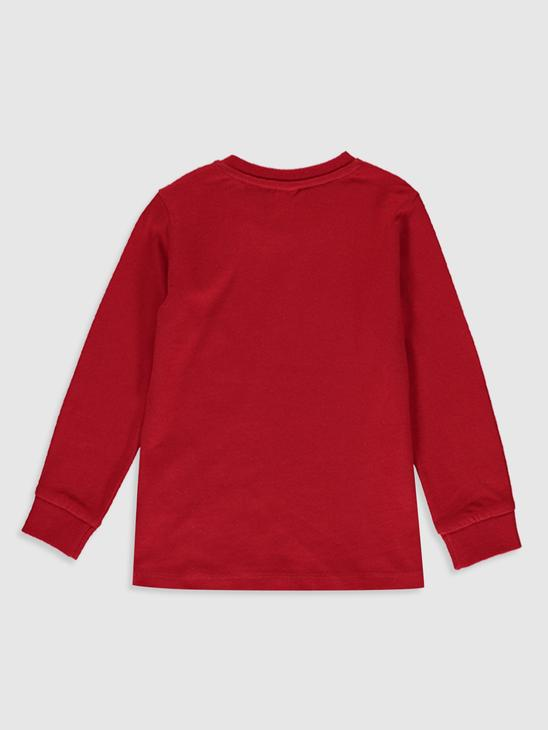 RED - T-Shirt - 0S0347Z1