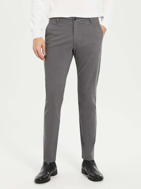 GREY - Chino Trousers - 9W1023Z8