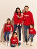 RED - Boy's Printed Hoodie Father and Son Matching - 0S1371Z4