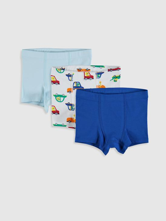 WHITE - 3-pack Baby Boy's Boxers - 0SH419Z1