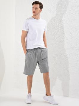 GREY - Standard Fit Sport Shorts