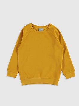 YELLOW - Boy's Basic Cotton T-Shirt