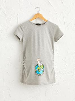 GREY - Witty Maternity T-Shirt
