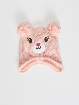 PINK - Baby Girl's Tricot Beret