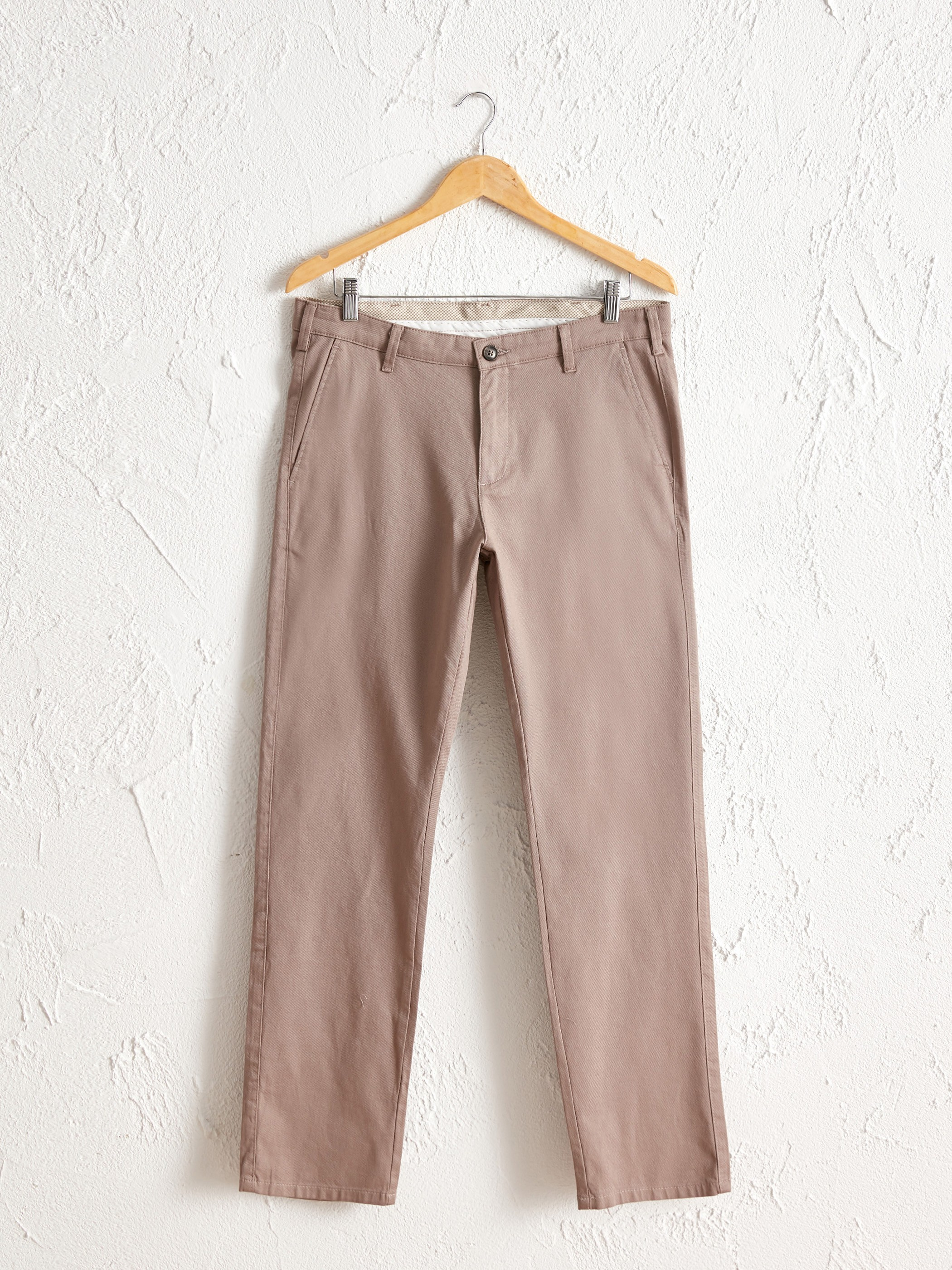 BEIGE - Normal Fit Chino Trousers - 0S1972Z8