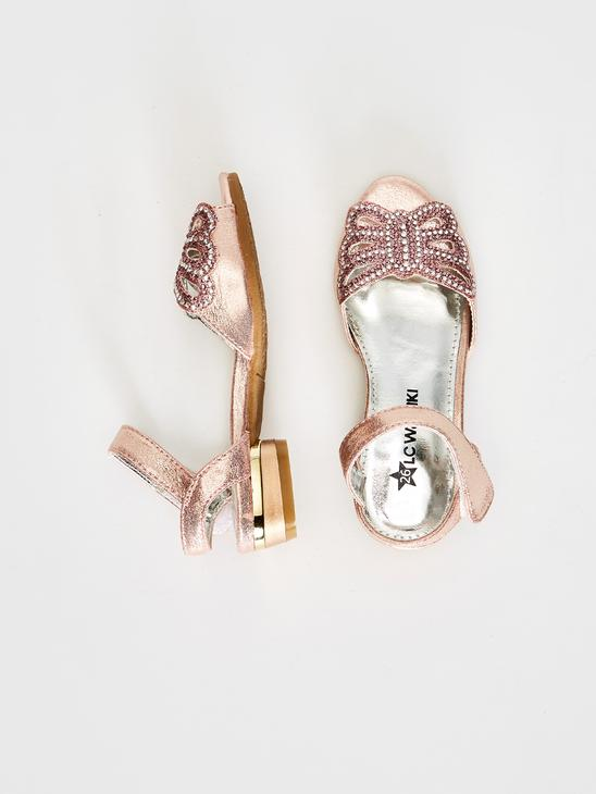 PINK - Girl's Stone Detail Sandals - 8S3814Z4