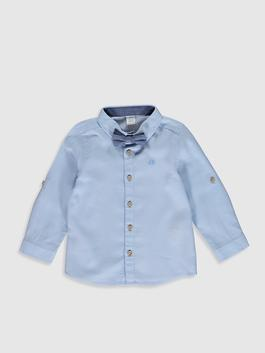 BLUE - 2-pack Baby Boy's Shirt and Bowtie