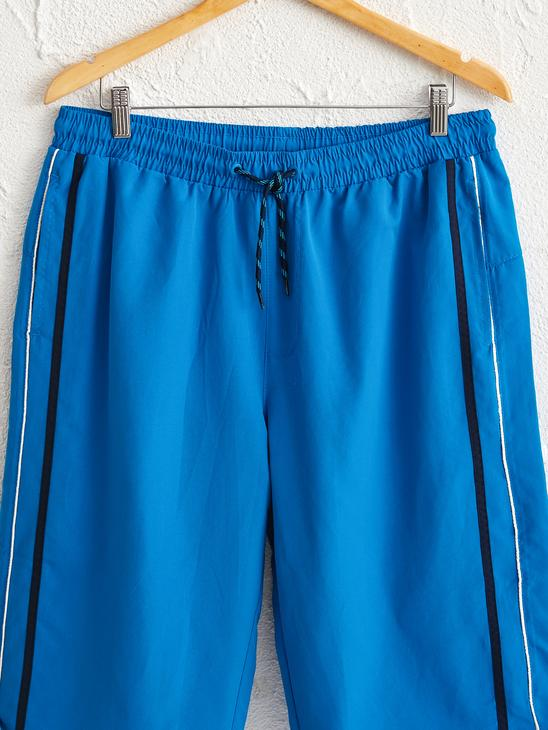 BLUE - Knee-Length Swim Trunk - 0SK458Z8