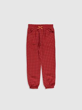 CORAL - Girl's Figured Viscose Trousers